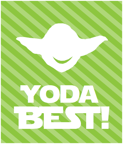 Yoda Valentines Card By The Inked Leaf / The Dating Divas.