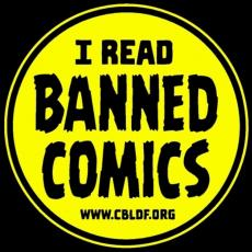 I Read Banned Comics Button