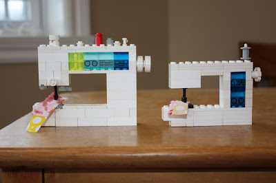 Riel Nason Lego Sewing Machines
