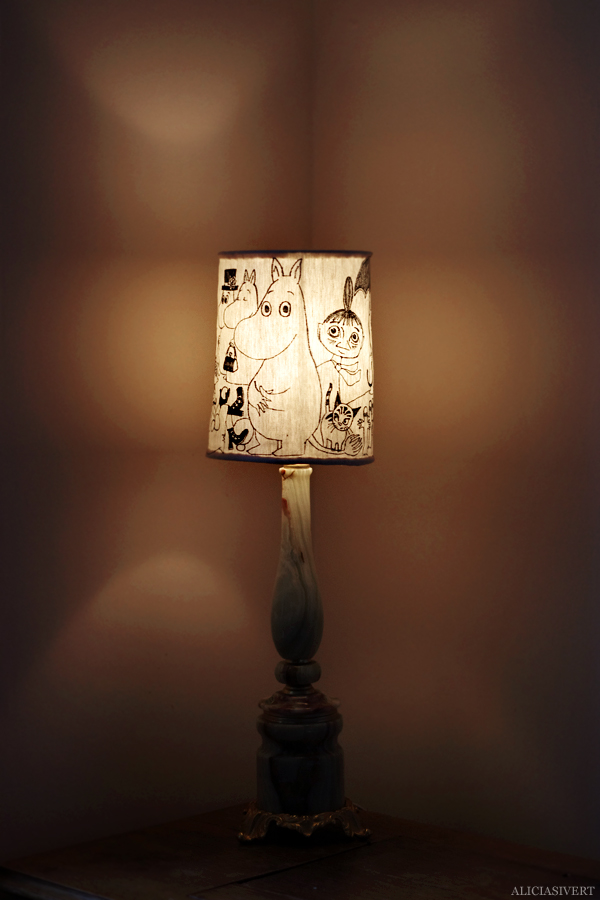 Alicia Sivertsson Moomin Lampshade