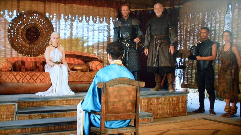 GoT Daenerys Tent Dais Seas3 Ep7