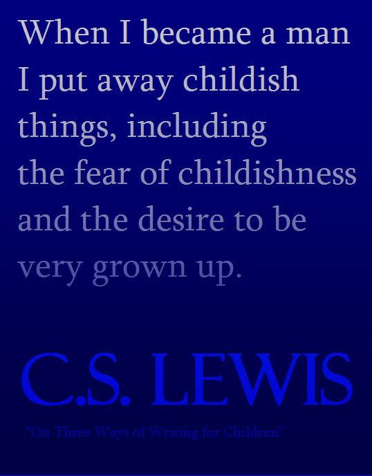 CS Lewis When I Became a Man