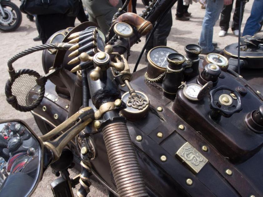 Helsinki Bike Show Steampunk2