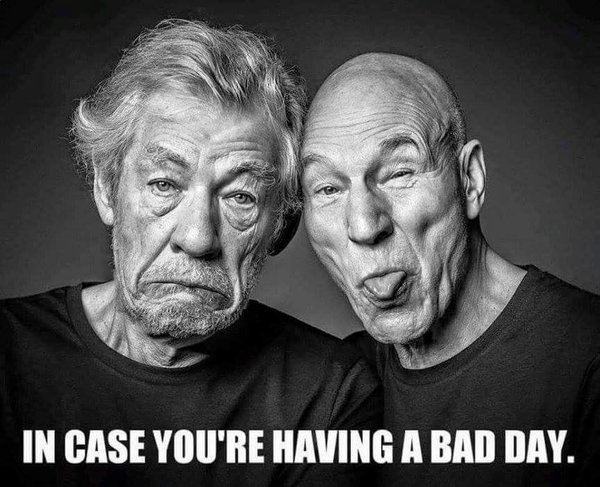 McKellen Stewart Bad Day
