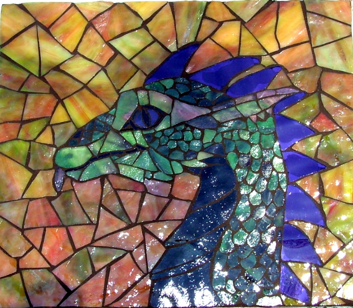 Lynn Flickr Dragon Mosaic