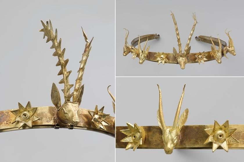 Hyksos Headband Collage