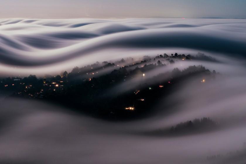 Lorenzo Montezemolo Marin County CA fog