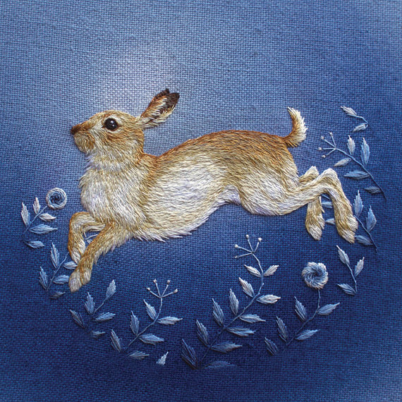 Chloe Giordano Winter Mountain Hare Print