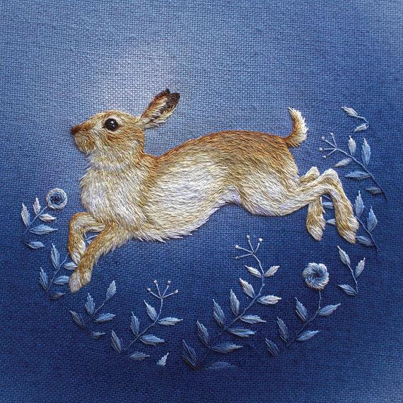 Chloe Giordano Winter Mountain Hare Print