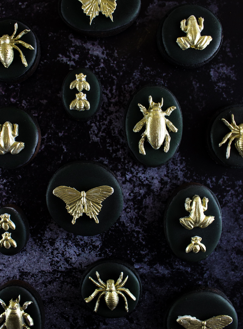 The Simple Sweet Life Claire Gilded Insect Cookies