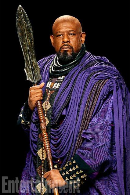 Entertainment Weekly Kwaku Alston Black Panther Zuri