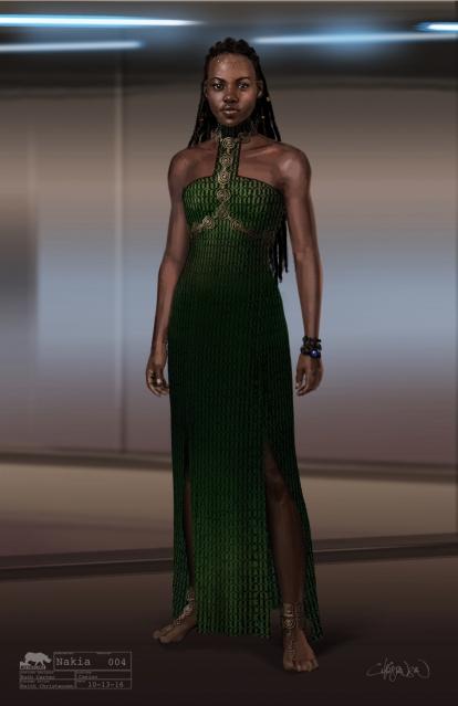 PRI Keith Christensen Marvel Studios Black Panther Nakia Casino Dress Concept