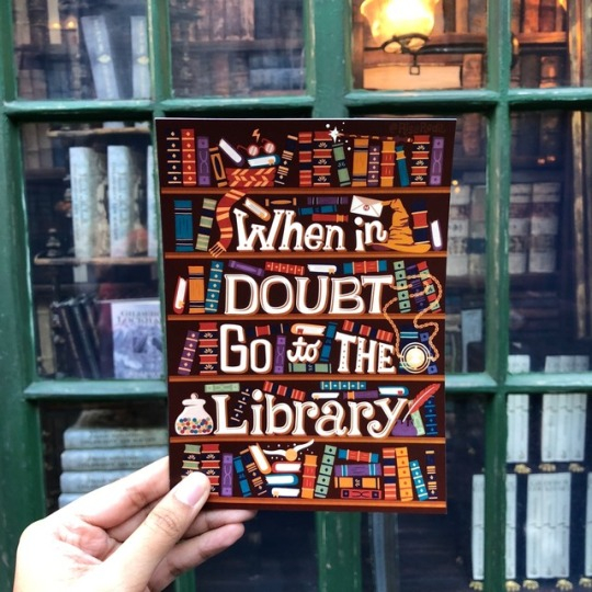 Tumblr Risa Rodil Poster When Doubt Library