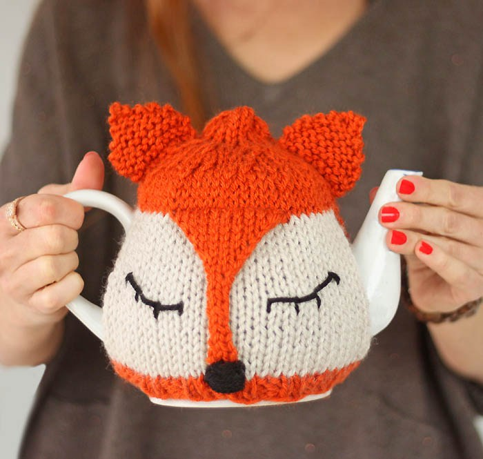 GinaMichele Fox Tea Cosy Knitting Pattern