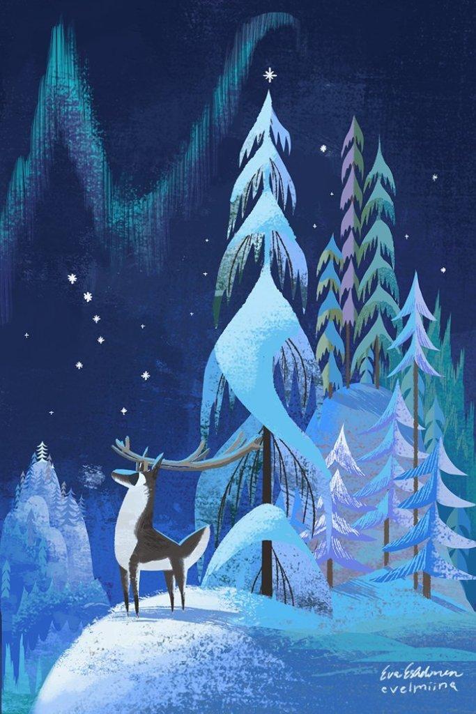 Eva Vilhelmiina Eskelinen Tumblr Reindeer