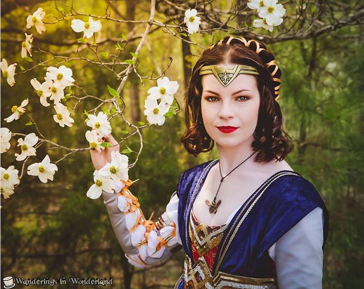 Instagram Msjennmakes Wonder Woman Renaissance Portrait