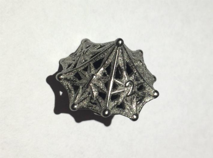 Shapeways Majestic Trinkets D10 Spindown Nickel