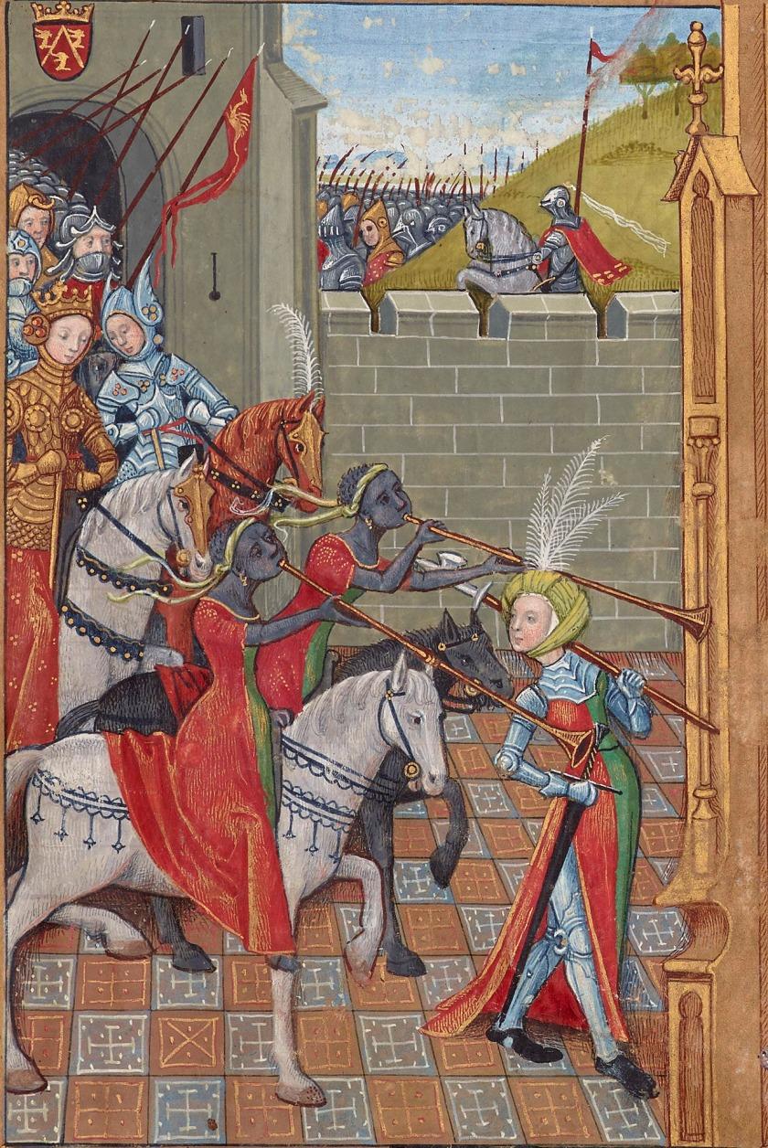 Le secret de l'histoire naturelle, France, ca. 1480-1485, BnF, Français 22971, fol. 2R; via discarding images on Tumblr.