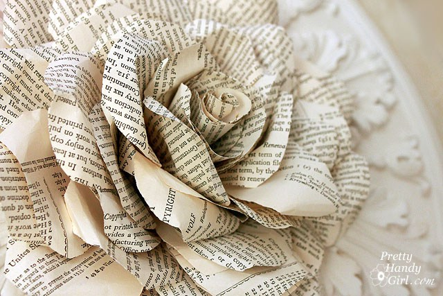 Pretty Handy Girl Brittany Bailey Book Page Rose