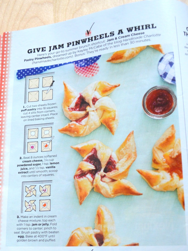 Country Living 7-8-2016 Jam Pinwheels
