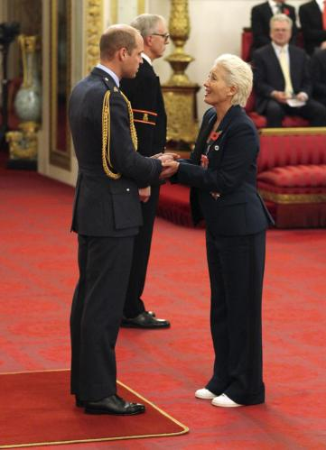 The News Herald Jonathan Brady Emma Thompson Dame Ceremony