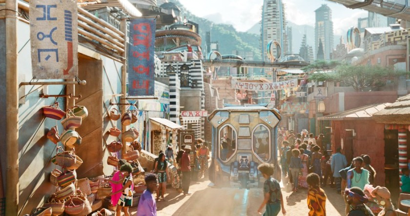 CityLab Marvel Studios Wakandan Street View