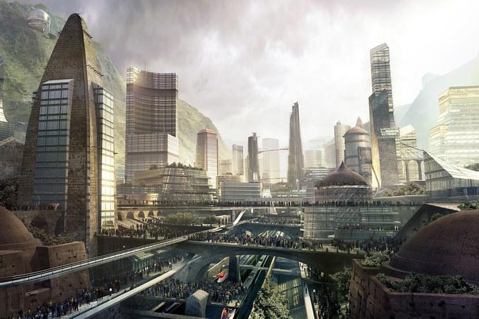 Vanity Fair Marvel Studios City Concept