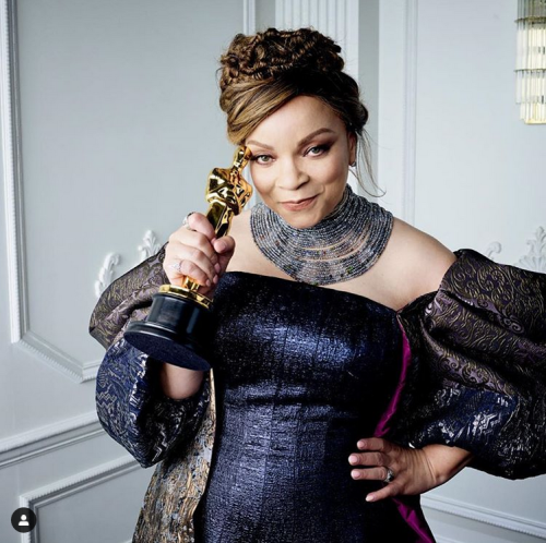 Instagram The Academy Ruth Carter w Oscar 2019
