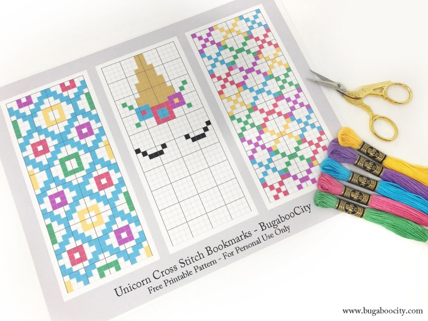 Bugaboo City Kim Cross-stitch Bookmarks