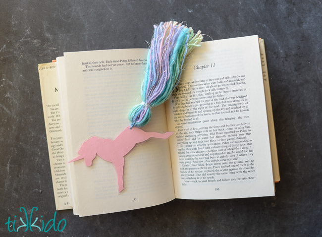 Tikkido Nicole Unicorn Bookmark