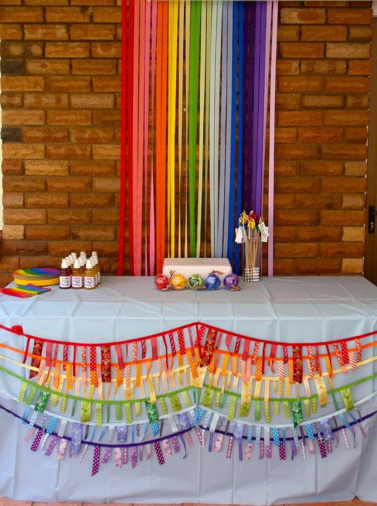 CatchMyParty Amy C Rainbow Backdrop