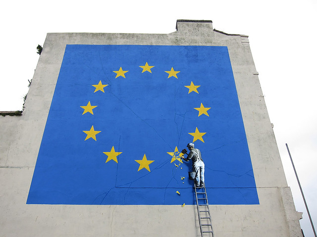 Flickr Banksy does Brexit detail