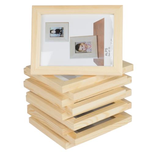 Walmart Wallniture Unfinished Wood Photo Frames