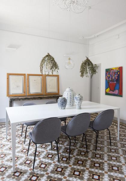 Espacio en blanco Eixample Barcelona Dining