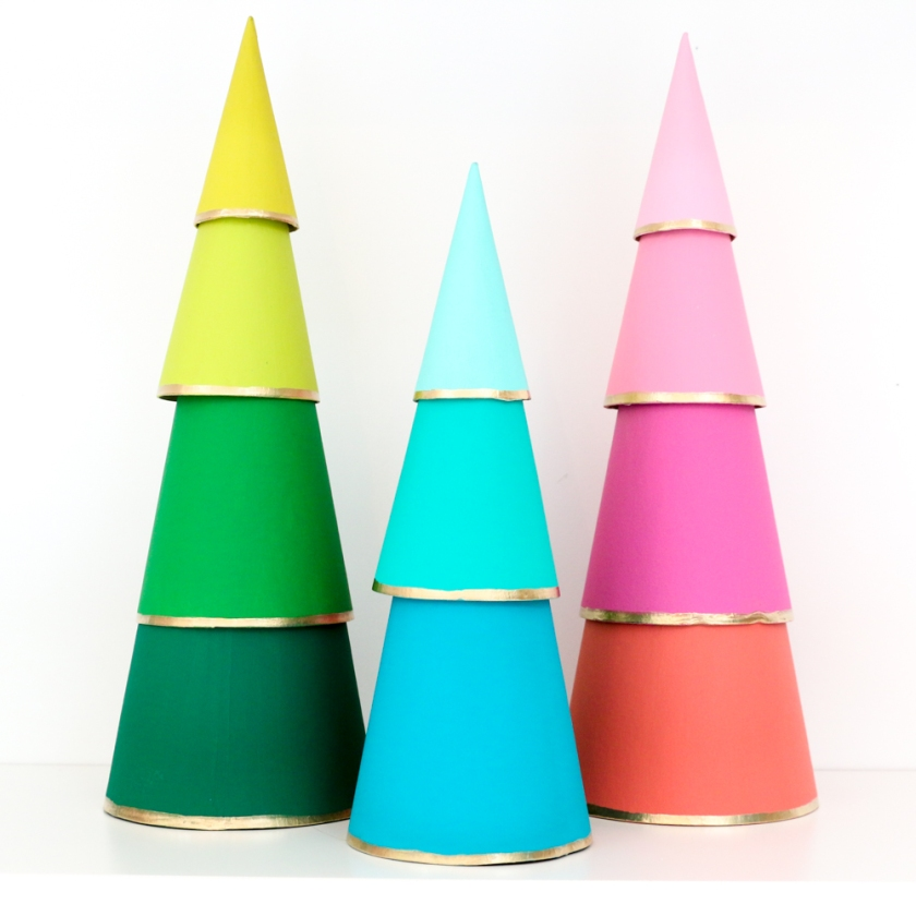 Kailo Chic Kara Whitten Ombre Xmas Table Trees